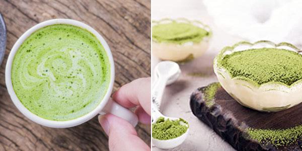 Té verde en polvo Matcha NaturaleBio de 100 gr chollo en Amazon
