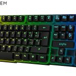 Teclado de membrana retroiluminado Energy Sistem Gaming K2 Ghosthunter barato en Amazon