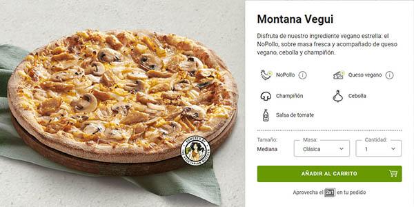 Telepizza promoción pizzas Veguis