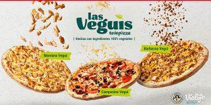Telepizza Veguis oferta lanzamiento