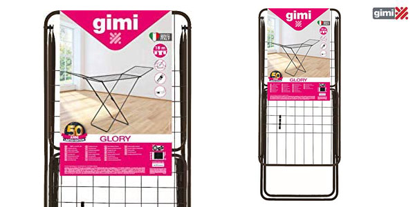 Tendedero plegable Gimi X-Leg Glory chollo en Amazon
