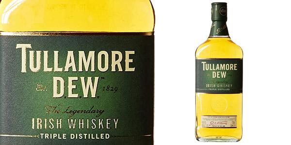 Tullamore Dew Irish Whiskey de 700 ml barato en Amazon