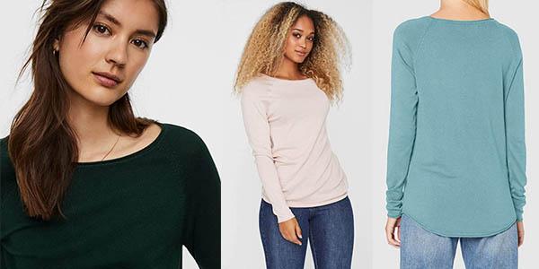 Vero Moda Vmnellie Glory LS Long suéter oferta