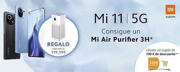Xiaomi Mi11 5G promoción lanzamiento Amazon