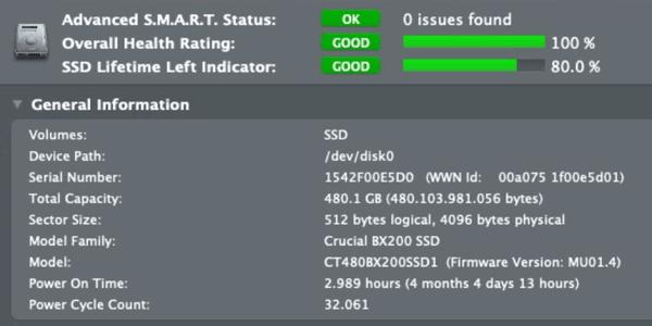análisis integridad disco SSD como servidor