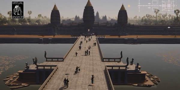 Angkor Wat visita virtual gratuita