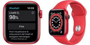 Apple Watch Series 6 de 40 mm (PRODUCT)RED