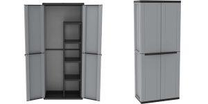 Armario Terry Jline 368 con 2 puertas y estantería interna barato en Amazon