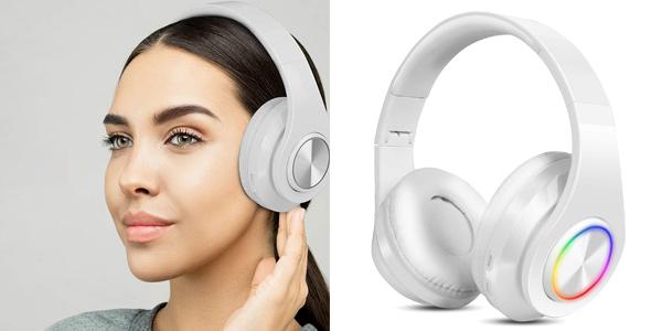 Auriculares Bluetooth Sendowtek con cancelación de ruido baratos en Amazon