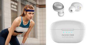 Auriculares deportivos inalámbricos Elephone Elepods S – W Bluetooth 5.0 con estuche de carga baratos en Amazon