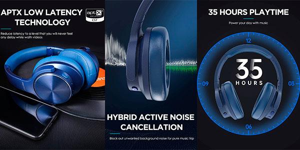 Auriculares Mixcder E9 Pro inalámbricos con cancelación activa de ruido en oferta