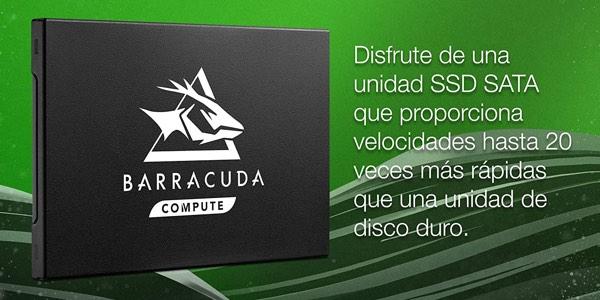 Disco SSD Seagate BarraCuda Q1 barato