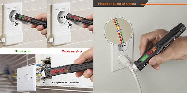 bolígrafo detector voltaje sin contacto Tacklife calidad barato