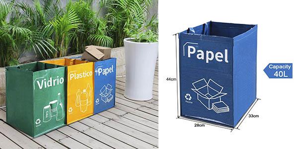 bolsas plástico resistente para reciclar baratas