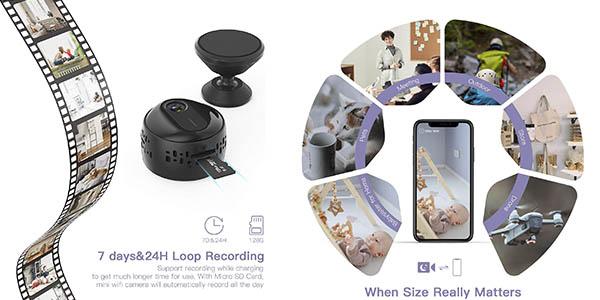 cámara sensor vigilancia Walmeck oferta