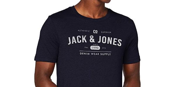 Camiseta Jack Jones Denim Logo en oferta
