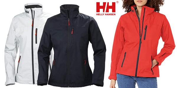 Chaqueta deportiva Helly Hansen W Crew midlayer para mujer barata en Amazon