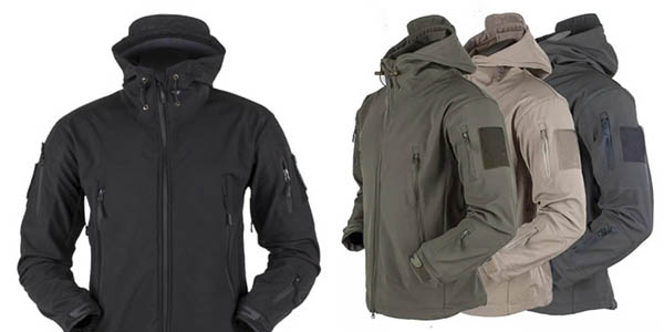 chaqueta forro polar impermeable barata