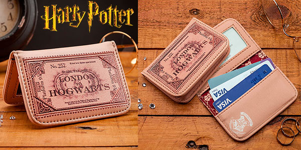 Chollo Cartera para pasaporte Harry Potter Hogwarts