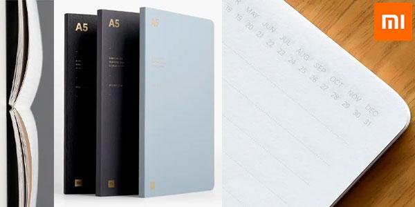 Pack 3x Cuaderno Xiaomi A5 de 128 páginas