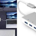 Chollo Hub 5 en 1 Weton USB-C con 3 USB 3.0, HDMI 4K y VGA
