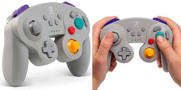 Chollo Mando inalámbrico para Switch de estilo GameCube