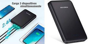 Chollo Batería externa Poweradd Pilot Pro 4 de 26.800 mAh con 3 USB