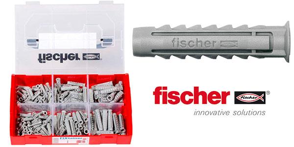 Chollo Set surtido Fischer 534090 de 210 tacos SX