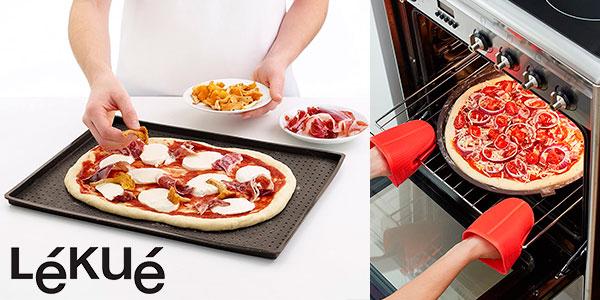 Chollo Tapete de silicona Lékué para pizza