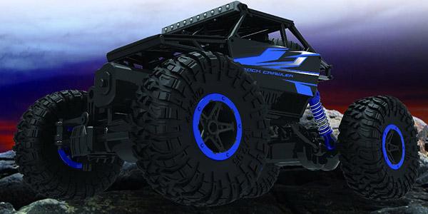 Coche de control remoto Top Race RC Monster truck 4WD de 2.4 GHZ oferta en Amazon