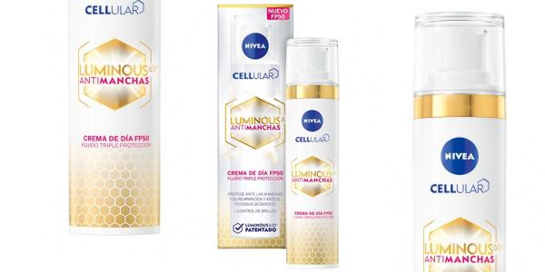 Crema de día SPF50 Cellular LUMINOUS Antimanchas de 40 ml barata en Amazon