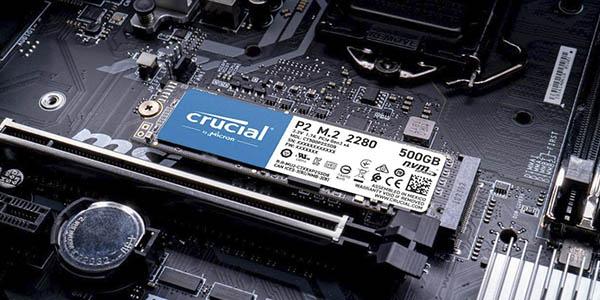 Crucial P2 CT1000P2SSD8 disco duro interno SSD 1TB chollo