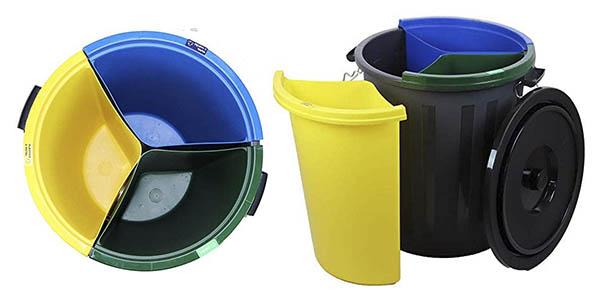 cubo fapil separadores reciclaje barato