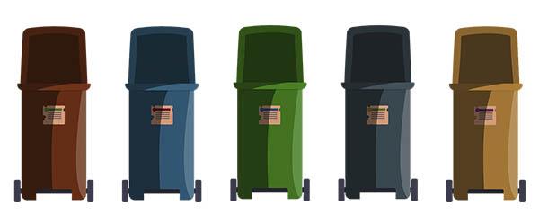 cubos sistemas reciclaje económicos