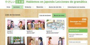 curso Hablemos japonés gratis