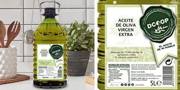 DCOOP Aceite de Oliva Virgen Extra de 5L barato en Amazon