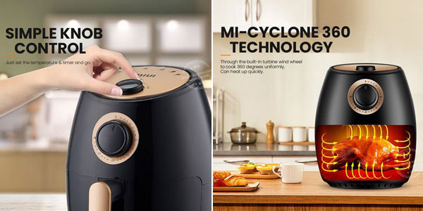 Freidora sin aceite MIUI Air Fryer de 2L chollo en AliExpress