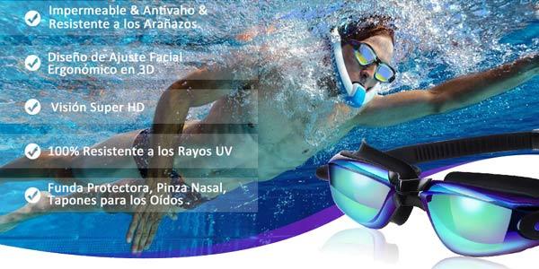 Gafas anti-vaho SGODDE para piscinas oferta en Amazon