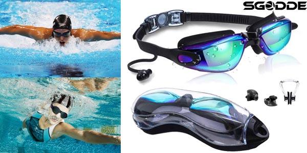 Gafas anti-vaho SGODDE para piscinas baratas en Amazon