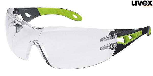 Gafas de seguridad trasparentes Uvex Pheos baratas en Amazon
