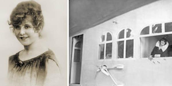 Grace Marguerite primera viajera zeppelin