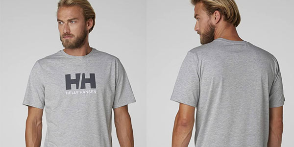Helly Hansen Logo T Shirt barata