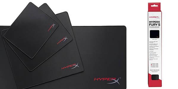 HyperX HX MPFS M Fury Pro alfombrilla grande mouse gaming chollo