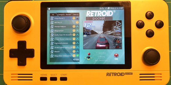 interfaz Retroid OS