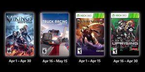 Juegos GRATIS con Gold abril 2021 Xbox