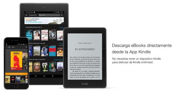 Kindle Unlimited prueba gratis ebooks Amazon