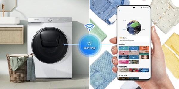 programación de lavadora mediante App