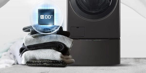 Lavadoras con inteligencia artificial