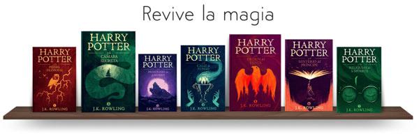 Leer Harry Potter en libro digital gratis
