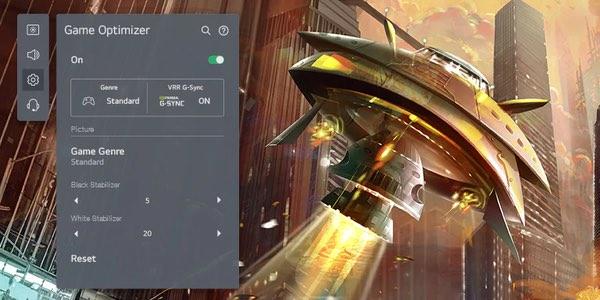 LG OLED game optimizer